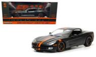 2009 Chevy Corvette C6 Z06 Fram Filters Black & Orange 1/24 Scale Diecast Car Model By Greenlight 50227