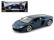 Lamborghini Aventador LP700-4 Blue 1/18 Scale Diecast Car Model By Bburago 11033