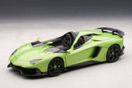 Lamborghini Aventador J Green 1/18 Scale Diecast Car Model By AUTOart 74677
