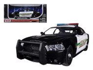 2011 Dodge Charger Pursuit Socorro County Sheriff Police 1/24 Scale Diecast Model By Motor Max 76949