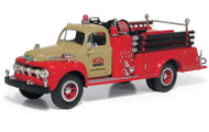 First Gear 1/34 Scale 1951 Ford F Series Pumper Truck Ford Tractor Plant Protection Diecast Model 19-3980