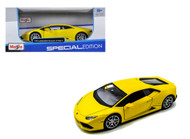 Lamborghini Huracan LP610-4 Yellow 1/24 Scale Diecast Car Model By Maisto 31509