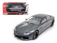 Lamborghini Estoque Grey Silver 1/18 Scale Diecast Car Model BY Motor Max 79157