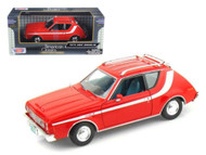 1974 AMC Gremlin Red 1/24 Scale Diecast Car Model By Motor Max 73317