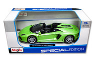 Maisto 1/24 Lamborghini Aventador LP700-4 Roadster Green Diecast Car Model 31504