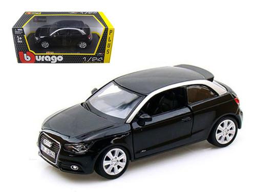 Audi A1 Black 1/24 Scale Diecast Car Model BY Bburago 21058
