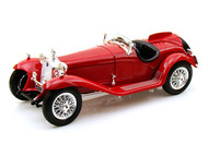 1932 Alfa Romeo 8C 2300 Spider Touring Red 1/18 Scale Diecast Car Model By Bburago 12063