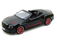 Bentley Continental Supersports ISR Black 1/18 Scale Diecast Car Model By Bburago 11035
