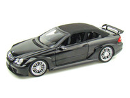 Kyosho 1/18 Scale Mercedes Benz CLK DTM AMG Cabriolet Black Diecast Car Model 08462