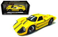 1967 Ford GT MK IV Yellow 1/18 Scale Diecast Car Model By Shelby Collectibles SC 422