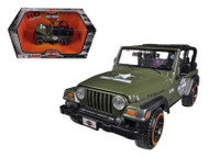 Jeep Wrangler Rubicon Harley Davidson Green 1/27 Scale Diecast Model By Maisto 32190