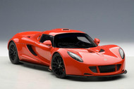 Hennessey Venom GT Spyder Red 1/18 Scale Diecast Car Model By AUTOart 75403