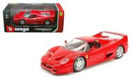 Ferrari F50 Red 1/24 Scale Diecast Car Model By burago 26010