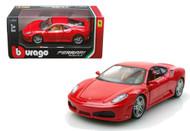 Ferrari F430 Red 1/24 Scale Diecast Car Model By Bburago 26008