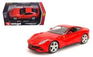 Ferrari F12 Berlinetta Red 1/24 Scale Diecast Car Model By Bburago 26007