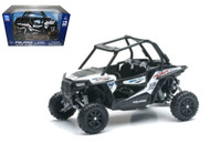 Polaris RZR XP1000 Dune Buggy 4 Wheel ATV White 1/18 Scale By Newray 57593