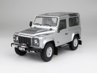 Kyosho 1/18 Scale 1984 Land Rover Defender 90 Silver SUV Diecast Car Model 08901