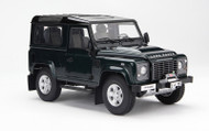 Kyosho 1/18 Scale 1984 Land Rover Defender 90 Green SUV Diecast Car Model 08901