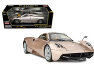 Pagani Huayra Champagne Gold 1/18 Diecast Car Model By Motor Max PLATINUM 77160