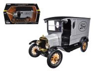 1925 Ford Model T Paddy Wagon Silver Platinum 1/24 Scale Diecast Car Model By Motor Max 79329