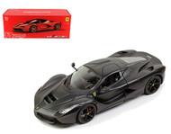 Ferrari LaFerrari F70 Black 1/18 Scale Diecast Car Model Signature Series By Bburago 16901