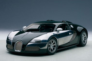 Bugati EB Veyron Centenaire Racing Green Malcolm Campbell 1/18 Scale Diecast Car Model By AUTOart 70958