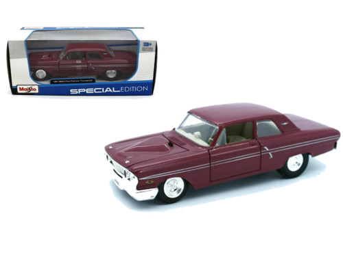1964 Ford Fairlane Thunderbolt Red 1/24 Scale Diecast Car Model BY Maisto 31957