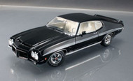 ACME 1/18 Scale 1972 Pontiac LeMans GTO Black Limited Edition 554 Pieces Made Diecast Car Model 1801205