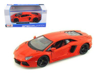 2011 Lamborghini Aventador LP-700-4 Orange 1/24 Scale Diecast Car Model By Maisto 31210