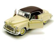 1950 Chevrolet Bel Air Hard Top Beige 1/18 Scale Diecast Car Model By Motor Max 73111