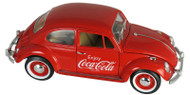 Motor City Classics MCC 1/18 Scale 1966 VW Volkswagen Beetle Bug Coke Coca Cola Diecast car Model 440033