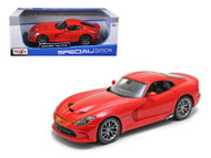 2013 Dodge Viper SRT GTS Red 1/18 Scale Diecast Car Model By Maisto 31128