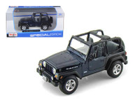 Jeep Wrangler Rubicon Blue 1/27 Scale Diecast Car Model By Maisto 31245