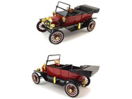 Motor City Classics 1/18 Scale 1915 Ford Model T Convertible Diecast Car Model 88141