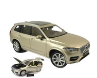 Motor City Classics 1/18 Scale 2015 Volvo XC90 XC 90 Sand Gold Diecast Car Model 88191