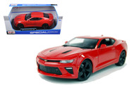 2016 Chevy Camaro SS Red 1/18 Scale Diecast Car Model By Maisto 31689