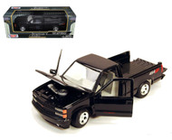 1992 Chevrolet Chevy SS454 Pick Up Truck Black 1/24 Scale Diecast Model By Motor Max 73203