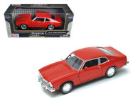 1974 Fod Maverick Red 1/24 Scale Diecast Car Model By Motor Max 73326