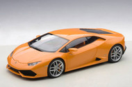 Lamborghini Huracan LP610-4 Arancio Borealis Metallic Orange 1/18 Scale Diecast Car Model By AUTOart 74603