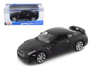 2009 Nissan GT-R Black 1/24 Scale Diecast Car Model By Maisto 31294