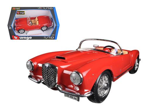1955 Lancia Aurelia B24 Spider Red 1/18 Scale Diecast Car Model By Bburago 12048