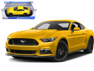 2015 Ford Mustang Yellow 1/18 Scale Diecast Car Model By Maisto 31197
