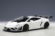 Lamborghini Gallardo GT3 FL2 2013 White 1/18 Scale Diecast Car Model By AUTOart 81358