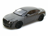 Bentley Continental SuperSports Coupe Grey 1/18 Scale Diecast Car Model By Welly 18038