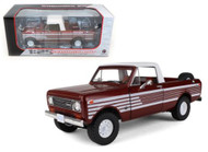 1979 International Harvester Scout Terra Tahitian Red Truck 1/25 Scale By First Gear 40-0363