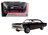 1966 Ford Fairlane 427 Black & Red Interior Diecast Car Model 1/25 Scale By First Gear 400346 40-0346