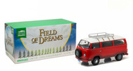1973 Volkswagen Type 2 Bus T2B Field of Dreams 1/18 Scale Diecast Model By Greenlight 19010