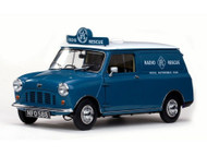 Sunstar 1/12 Scale Mini 1960 RAC Austin Minivan Blue Diecast Car Model SS 5317