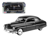 1949 Mercury Coupe Black 1/24 Scale Diecast Car Model By Motor Max 73225