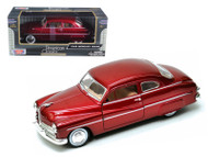 1949 Mercury Coupe Red 1/24 Scale Diecast Car Model By Motor Max 73225